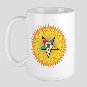 OES Star in the sun Large Mug