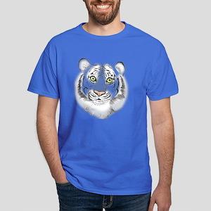 Colorful Tiger Dark T-Shirt