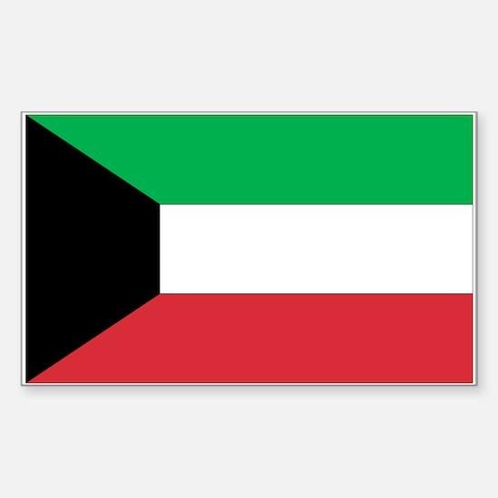 Kuwait Rectangle Decal