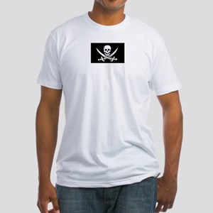 Pirate Flag Fitted T-Shirt