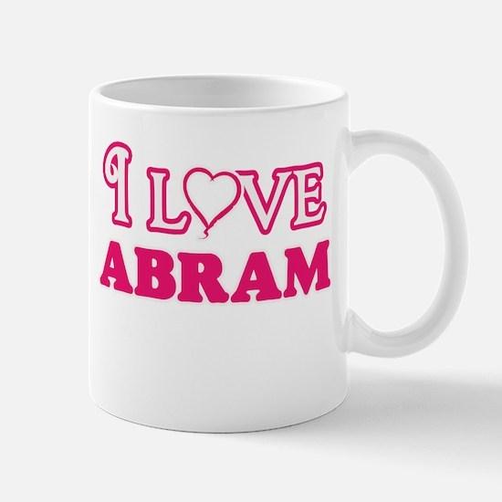 I Love Abram Mugs
