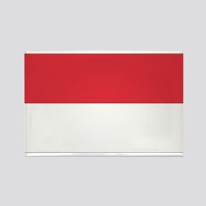 Indonesia Rectangle Magnet