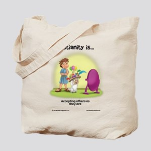 Accepting Others Tote Bag