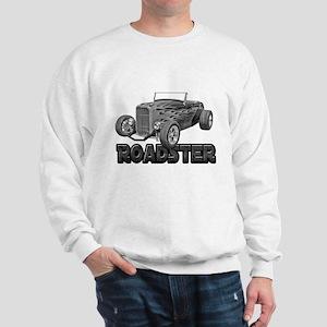1932 Ford Roadster Black Sweatshirt