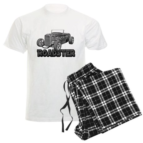 1932 Ford Roadster Black Men's Light Pajamas