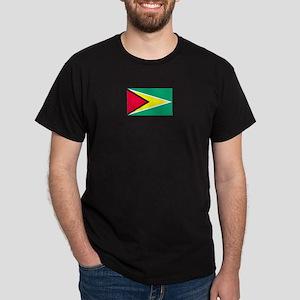 Guyana Black T-Shirt