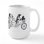 Belgian Bicycle Large Mug