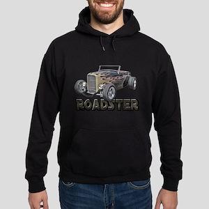 1932 Ford Roadster Flamed Hoodie (dark)