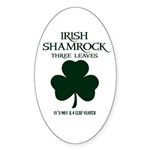 Irish Pride Sticker (Oval 10 pk)