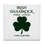 Irish Pride Tile Coaster