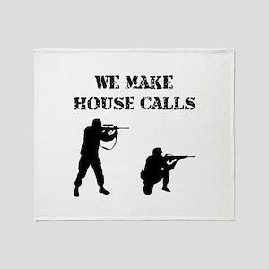 House Calls Throw Blanket