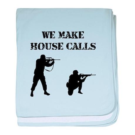 House Calls baby blanket