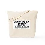 Beam Me Up Scotty Tote Bag