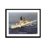 USS MORTON Framed Panel Print