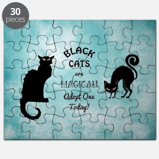BLACK CATS ARE... Puzzle