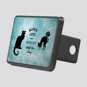 BLACK CATS ARE... Rectangular Hitch Cover