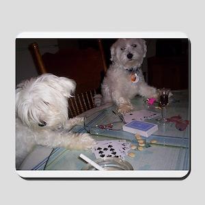 Poker Puppy Mousepad