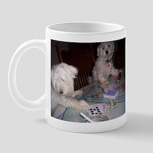 Poker Puppy Mug