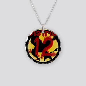 District 12 Necklace Circle Charm