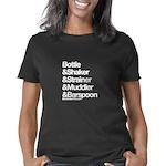 BartenderHQ Bottle & Shake Women's Classic T-Shirt