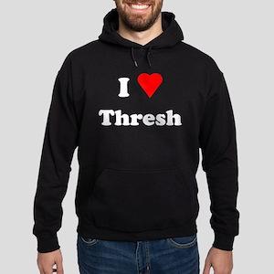 I Love Heart Thresh Hoodie (dark)