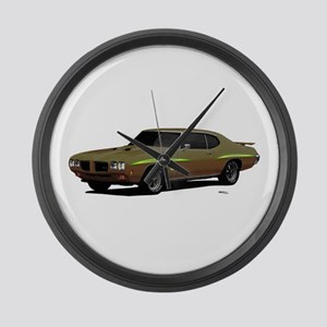 1970 GTO Judge Granada Gold Large Wall Clock