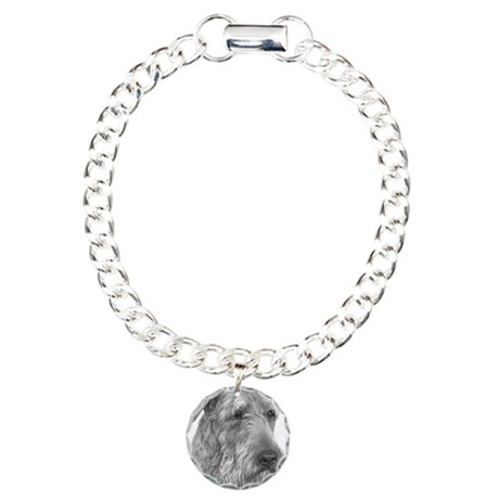 Airedale Terrier Charm Bracelet, One Charm