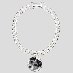 Jack (Parson) Russell Terrier Charm Bracelet, One