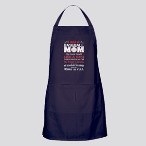 BASEBALL MOM Apron (dark)