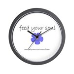 Feed Your Soul Wall Clock