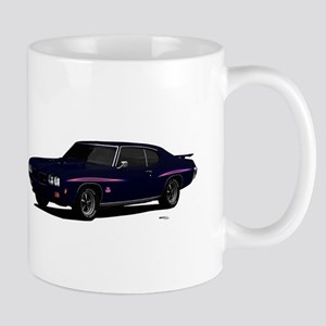 1970 GTO Judge Atoll Blue Mug