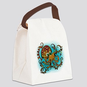 Octopus X Canvas Lunch Bag