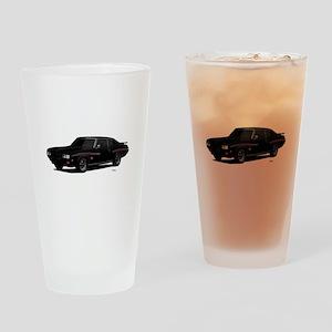 1970 GTO Judge Starlight Black Drinking Glass