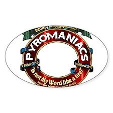 Clear Label Sticker (Oval)