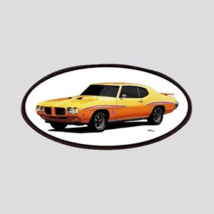 1970 GTO Judge Orbit Orange Patches