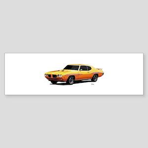 1970 GTO Judge Orbit Orange Sticker (Bumper)