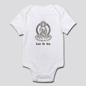 Vintage Buddha Let It Go Infant Bodysuit
