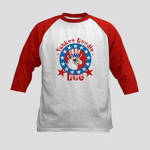 Patriotic Aussie Kids Baseball Jersey