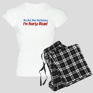 Bet Garbanzos I'm Puerto Rica Women's Light Pajama