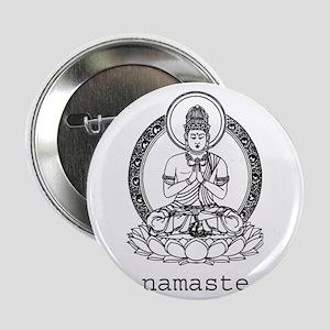 """Namaste 2.25"""" Button"""