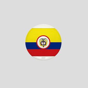 Colombia Presidential Flag Mini Button