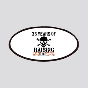 35 Years of Raising Hell Patches