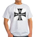Long Course Swimmers Ash Grey T-Shirt