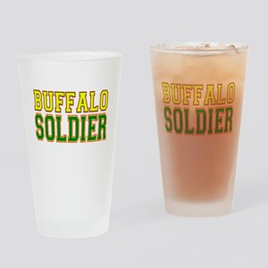 Buffalo Soldier Drinking Glass