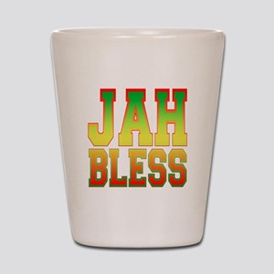 Jah Bless Shot Glass