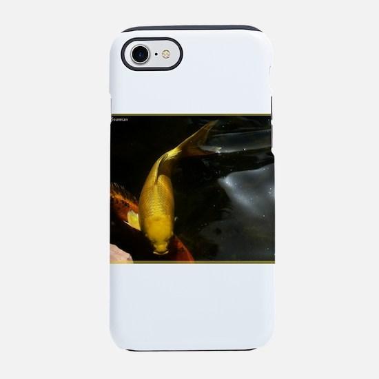 Golden koi! Fish Photo! iPhone 7 Tough Case