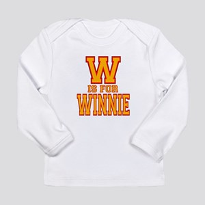 W is for Winnie Long Sleeve Infant T-Shirt