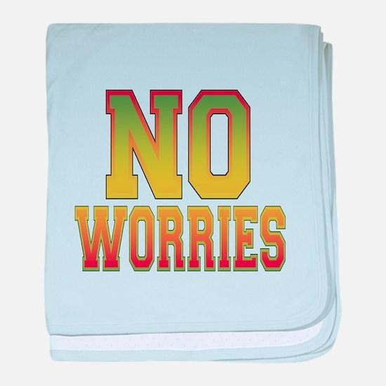No Worries baby blanket
