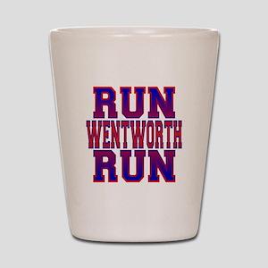 Run Wentworth Run Shot Glass