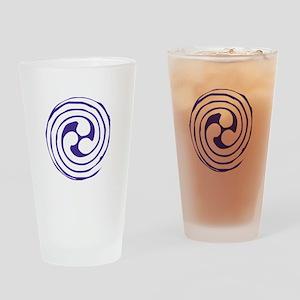 Triskelion Drinking Glass